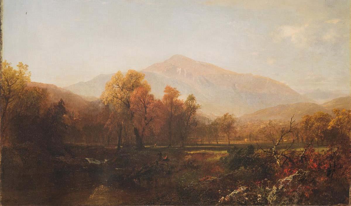 John Frederick Kensett - Mount Washington from the Conway Valley - 1867