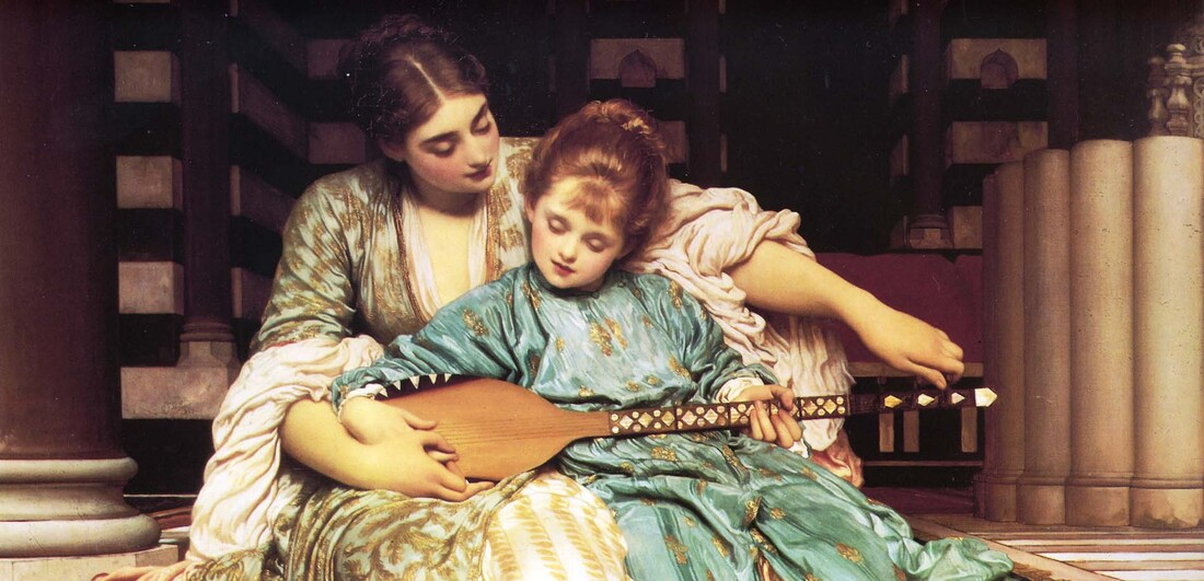 The Music Lesson, Sir Frederic Lord Leighton - 1877